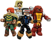 diamond select toys marvel minimates sdcc
