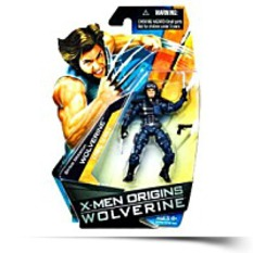 Series 1 Strike Mission Wolverine Action