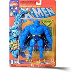 Xmen Beast 1994 Vintage Marvel Action